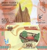MADAGASCAR 500 ariary ND (2017) UNC!!!