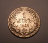 Bulgaria 1 leva 1882, Europa