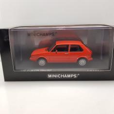 Macheta VW Golf GTI Pirelli 1983 Minichamps 1/43 - Macheta auto Schuco