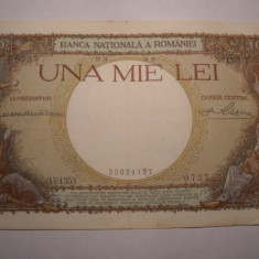 1000 lei 1939 - Bancnota romaneasca