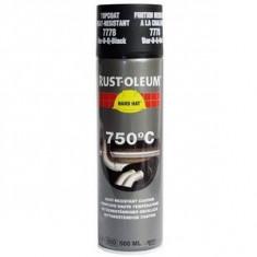 Vopsea Spray Temperaturi Inalte Black 750 C 500ml