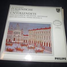 Mendelssohn, Schubert - Italienische, Unvollendete Sinfonie_vinyl, LP _Philips - Muzica Clasica Philips, VINIL