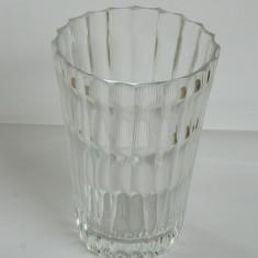 Vaza sticla grea veche