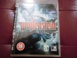 Joc Wolfenstein, PS3, original, alte sute de jocuri!, Simulatoare, 12+, Single player, Sony