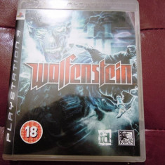 Joc Wolfenstein, PS3, original, alte sute de jocuri! - Jocuri PS3 Sony, Simulatoare, 12+, Single player
