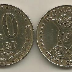 ROMANIA   20  LEI  1993    [2]   livrare  in cartonas
