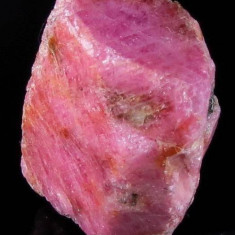 CORINDON -Rubin NATURAL roz cristal BRUT 73,17 ct. - extras din mina - netratat