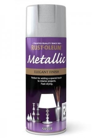 Vopsea Metalizata Silver 400ml