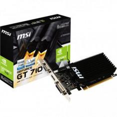 Placa video MSI nVidia GeForce GT 710, 1 GB GDDR3, 64 Bit BUS - Placa video PC