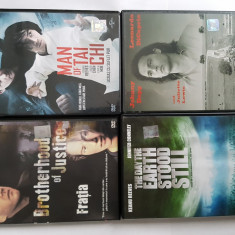 Filme J.Depp, K. Reeves, J. Cusack,T.Hanks, R. Crowe, L. Neeson, DVD, Romana