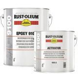 Vopsea Epoxidica Profesionala 9100 Alb RAL 9010 5 Litri