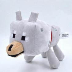 Minecraft plush pack ! Character: Wolf - 18 cm + bratara minecraft CADOU !!