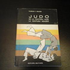 Judo de la centura alba la centura neagra - F. Frazzei, Militara, 1972, 343 p