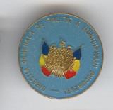 Directia Generala de Politie a Municipiului Bucuresti - Insigna email  Superba