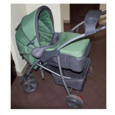 Carucior bebe 3 in 1 - Carucior copii 3 in 1, Verde