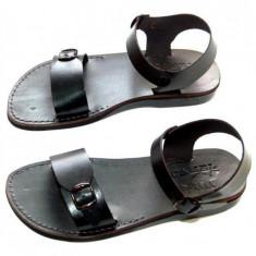 Sandale Romane Gladiator N Negre 35 36 - Sandale dama