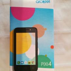 Alcatel One Touch Pixi 4 (4) 4034x Nou Sigilat - Telefon Alcatel, Negru, 4GB, Neblocat, Quad core, 1 GB