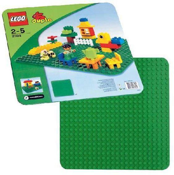 LEGO® Duplo - placa verde (2304) foto mare