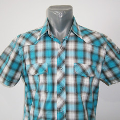 Camasa casual de barbati in carouri H&M, mar M, in stare buna! - Camasa barbati H&M, Marime: M, Culoare: Din imagine