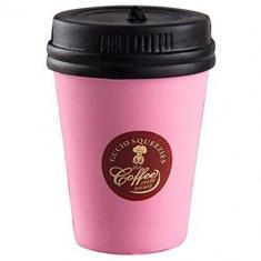 Jucarie Squishy Cafea Roz