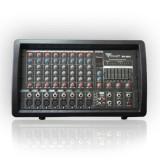 MIXER AUDIO AMPLIFICAT CONSOLA DJ LINIE PHANTOM USB 2X100W