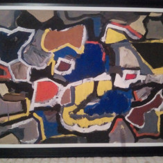 Mihai Rusu - Pictor roman, Abstract, Guasa