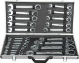 TRUSA CHEI COMBINATE CU CLICHET (6-32mm, 22 piese) COD: GBG10341