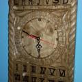 Ceas de perete artizanal unicat