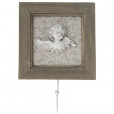 Cuier din lemn Angel 14 x 20 cm - Cuier hol