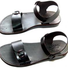 Sandale Romane Gladiator N Negre - Sandale dama