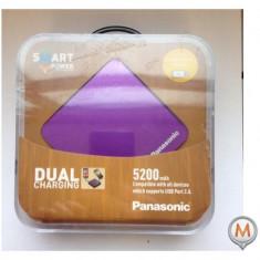 Panasonic Power Dual Charging 5200mAh Purpuriu