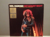 NEIL DIAMOND - HOT AUGUST NIGHT - 2LP SET (1971/MCA/RFG) - VINIL/IMPECABIL(NM), MCA rec
