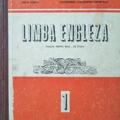 LIMBA ENGLEZA MANUAL PENTRU ANUL I DE STUDIU - Ionici, Farnoaga - Curs Limba Engleza