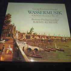 "Handel,Rafael Kubelik-Wassermusik""Orchesterkonzert nr.25""_vinyl,LP_ExLibris, VINIL"