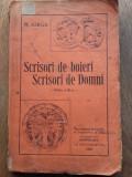 SCRISORI DE BOIERI SCRISORI DE DOMNI - N.IORGA,editia 3,1932