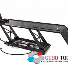 Elevator hidro-pneumatic motociclete 450kg Black/Negru. - Elevator motociclete
