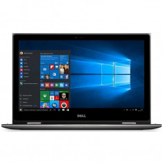 Laptop Dell Inspiron 5379, 13.3 inch FullHD IPS Touch, Intel Core I7-8550u, 8 GB DDR4, 256 GB SSD, Intel UHD 620, Windows 10 Pro, Gri