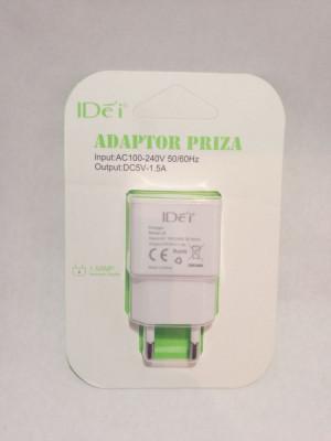 Alimentator 5v cu 1,5 A , adaptor priza telefon USB incarcare rapida foto