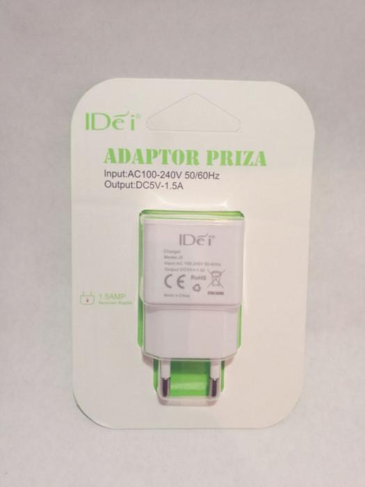 Alimentator 5v cu 1,5 A , adaptor priza telefon USB incarcare rapida