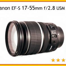 Obiectiv foto - Canon EF-S 17-55mm f/2.8 USM IS - Obiectiv DSLR