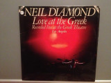NEIL DIAMOND - LOVE AT THE GREEK - 2LP SET (1977/CBS/USA) - Vinil/Vinyl/, Columbia