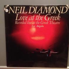 NEIL DIAMOND - LOVE AT THE GREEK - 2LP SET (1977/CBS/USA) - Vinil/Vinyl/ - Muzica Pop Columbia