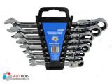 Set chei combinate cu clichet mobil 8-22 mm GBG10338