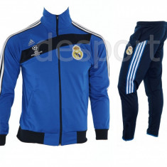 Trening REAL MADRID - Bluza si pantaloni conici - Modele noi - Pret Special 1218 - Trening barbati, Marime: S, M, L, XL, XXL, Culoare: Din imagine