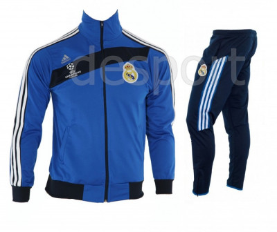 Trening REAL MADRID - Bluza si pantaloni conici - Modele noi - Pret Special 1218 foto