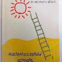 ASISTENTA COPILULUI ASMATIC - GHID PRACTIC de NICOLETA BISCA, 50 PAG.