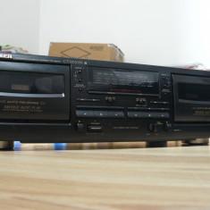 Dublu deck Pioneer CT-W205R stare impecabila - Deck audio
