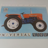 Brosura tractor UTB UNIVERSAL 530 DT, an 1979