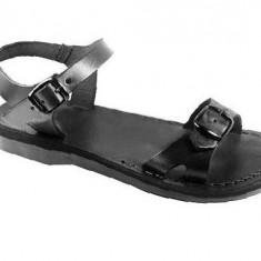 Sandale Dama din Piele Gladiator Slim