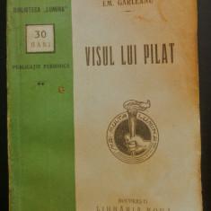 Visul lui Pilat - Emil Garleanu